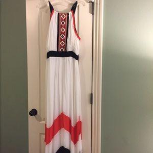 OXO Aztec boho maxi dress